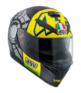 CASCO AGV K-3 SV WINTER TEST VR-46