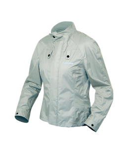 CHAQUETA RAIN CHEST EVO GRIS LADY