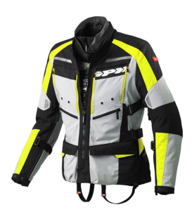 CHAQUETA SPIDI 4SEASON H2OUT NEGRO/FLUO
