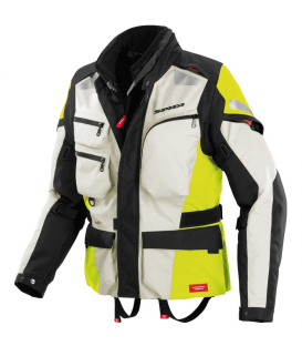 CHAQUETA SPIDI VOYAGER-3 H2OUT NEGRO/FLUO