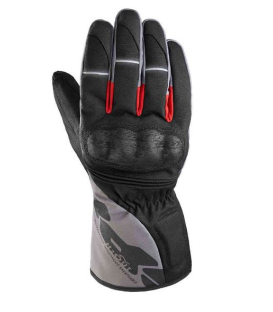 GUANTE SPIDI WNT-1 H2OUT NEGRO/GRIS/ROJO