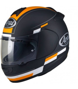 CASCO ARAI AXCES-3 BLAZE FROST BLACK/ORANGE