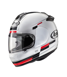 CASCO ARAI AXCES-3 BLAZE FROST WHITE/RED