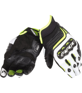 GUANTE DAINESE CARBON D1 SHORT NG/BL/FLUO