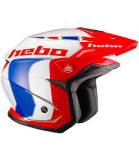 CASCO HEBO ZONE 5 LIKE AZUL/ROJO