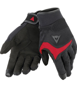 GUANTE DAINESE DESERT POON D1 NEGRO/ROJO