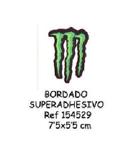 BORDADO ADHESIVO MONSTER