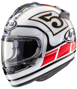 CASCO ARAI CHASER-X EDWARDS LEGEND BLANCO