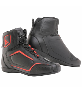 BOTIN DAINESE RAPTORS BLACK/FLUO-RED
