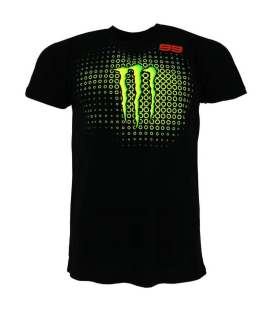 CAMISETA LORENZO MONSTER 99 BLACK