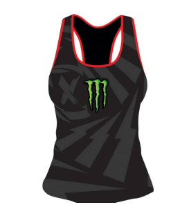 TANK TOP LORENZO MONSTER BLACK WOMAN