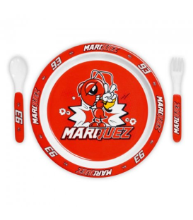 SET CUBIERTOS MARC MARQUEZ RED