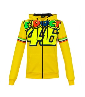 SUDADERA VR46 CLASSIC STRIPES FULL MAN