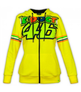 SUDADERA VR46 CLASSIC STRIPES FULL WOMAN