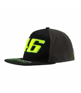 GORRA VR46 MONSTER DUAL ADJ BL/GREY