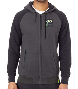 SUDADERA VR46 MONSTER DUAL GREY MAN
