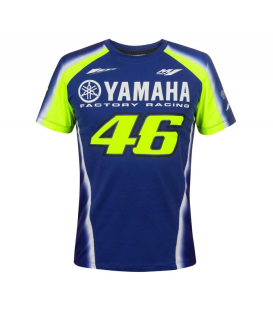 CAMISETA VR46 YAMAHA RACING BLUE MAN