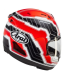 CASCO ARAI RX-7V MAMOLA EDGE RED