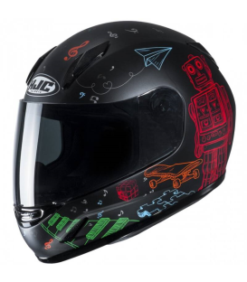CASCO HJC WAZO MC1SF INFANTIL