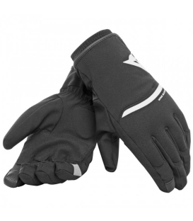 GUANTE DAINESE PLAZA 2 UNISEX D-DRY BLACK/WHITE