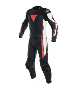 MONO DAINESE ASSEN 2PCS BLACK/WHITE/FLUO RED