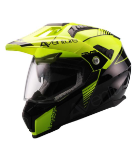 CASCO UNIK ADVENTURE AMARILLO
