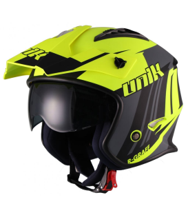 CASCO TRIAL UNIK CT-07 NEGRO/FLUO
