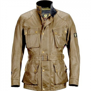 CHAQUETA BELSTAFF CLASSIC TT COTTON ANTIQUE LADY