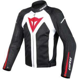 CHAQUETA DAINESE HYPER FLUX D-DRY BL/NG/RJ