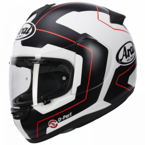 CASCO ARAI AXCES-3 LINE RED