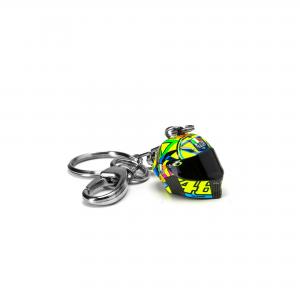 LLAVERO VR46 CLASSIC CASCO 3D MULTICOLOR