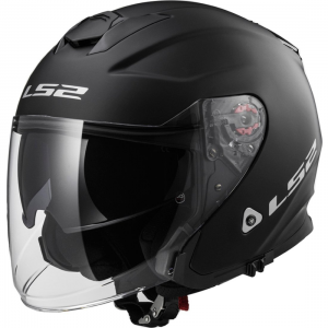 CASCO JET LS2 INFINITY OF521 NEGRO MATE