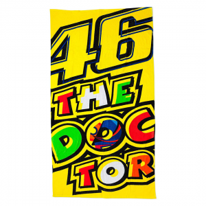 TOALLA 46 THE DOCTOR MOTO GP