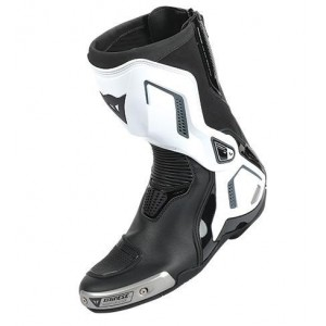 BOTA DAINESE TORQUE D1 OUT BLANCO/NEGRO