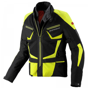 CHAQUETA SPIDI VENTAMAX H2OUT NEGRO/FLUO
