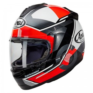 CASCO ARAI CHASER -X GENE RED