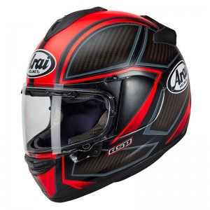 CASCO ARAI CHASER -X SPINE FLUOR RED