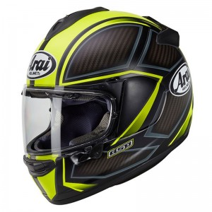 CASCO ARAI CHASER -X SPINE FLUOR YELLOW