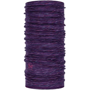 BRAGA BUFF MERINO PURPLE MULTI STRIPES