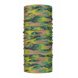 BRAGA BUFF COOLNET® UV+ TUBULAR CAMU MILITARY