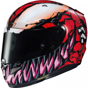 CASCO HJC RPHA 11 CARNAGE MARVEL MC1