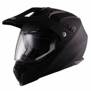 CASCO UNIK ADVENTURE NEGRO MATE
