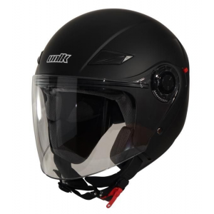 CASCO UNIK CJ-03 NEGRO MATE