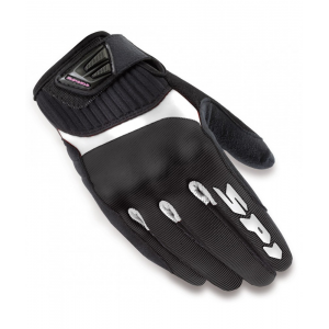 GUANTE SPIDI G-FLASH TEX NEGRO/BLANCO LADY
