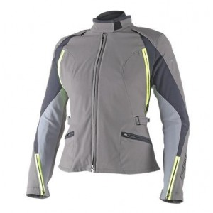 CHAQUETA DAINESE ARYA D-DRY GRIS/FLUO LADY