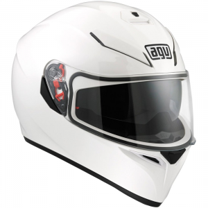 CASCO K-3 SV BLANCO BRILLO