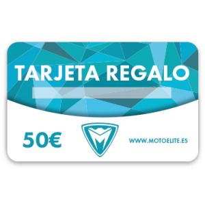 TARJETA REGALO DE 50 €