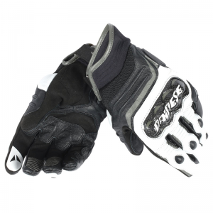 GUANTE DAINESE CARBON D1 SHORT NG/BL