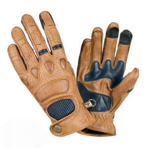 GUANTES BY CITY PILOT MUSTARD/BLUE